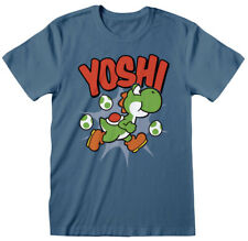 Nintendo 'Super Mario Yoshi' (Blue) T-Shirt  - NEW & OFFICIAL!