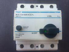 Hager 20025 U780 80A 30mA RCD