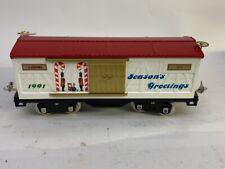 LIONEL Seasons Greetings Model Train Car (MI1046606)