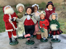Byers Choice christmas Carolers - Lot Of 7