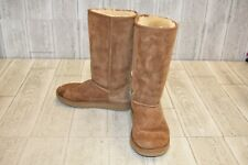 Ugg Classic II Tall Boots - Little Girls Size 3 - Chestnut