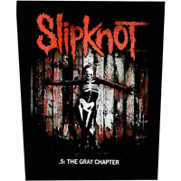 Slipknot Gray Chapter Jacket Back Patch Official Metal Band Merch New
