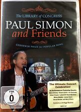 PAUL SIMON & FRIENDS LA BIBLIOTECA DE CONGRESO 2009 DVD Región 2 NTSC Gershwin
