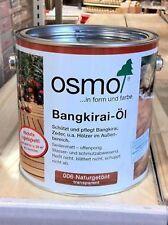 OSMO Bangkirai - oil, natural toned, 2,5L