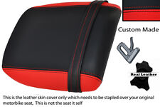 RED & BLACK CUSTOM FITS DUCATI 748 916 996 998 REAR PILLION SEAT COVER