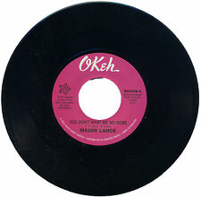 """MAJOR LANCE  """"YOU DON'T WANT ME NO MORE""""   NORTHERN SOUL AT IT'S BEST    LISTEN!"""