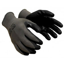 120 PAIRS Black coated nitrile 13 gauge machine knit nylon safety Glove X-LARGE