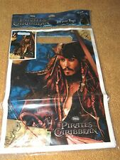 NEW 8 PIRATES OF THE CARIBBEAN LOOT BAGS PARTY SUPPLIES
