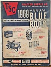 1969 Tractor Supply Farm Machinery Parts Catalog