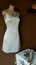 Bebe silver/gray dress size 4