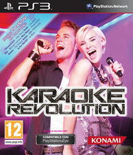 Karaoke Revolution PS3 Playstation 3 IT IMPORT KONAMI
