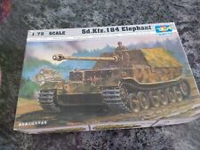 MAQUETTE TRUMPETER  SD.KFZ .184 ELEPHANT