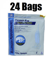 (24) Style F Bags for Kirby Vacuum Allergen Reduction Universal Fit 413160