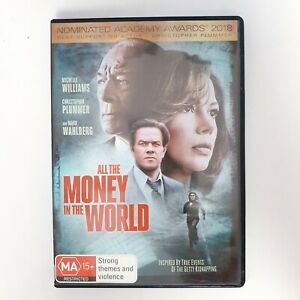 All The Money In The World Movie DVD Region 4 PAL Free Postage - Drama