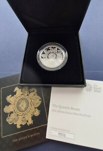 Queen's Beasts 2021 1oz Silver Proof Completer Coin. Stunning.
