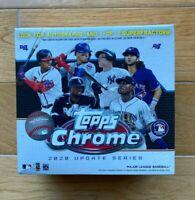 Topps Chrome 2020 Update Series ~ Mega Box ~ MLB Baseball Cards, Sealed IN HAND!