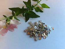 60 Preciosa Loch Rose Flatback Rhinestone Sew On Crystal AB 4mm Pack 60 CRAFT