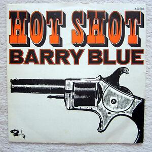 Single / BARRY BLUE / FANCE PRESS / HOT SHOT / RARITÄT /