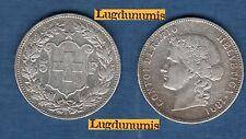 Suisse - 5 Francs 1891 Argent TB + Very Fine - Swiss Helvetia 150000 Exemplaires