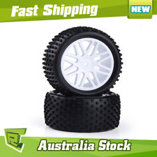 66036 REAR Wheel Complete 2 pcs white HSP  buggy  1/10 06026