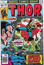 Thor #268 Bronze Age Marvel Comics US CENT COPY Gene Colan VF+