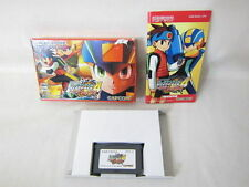 ROCKMAN EXE 4 Red Sun Item Ref/bcb Game Boy Advance Nintendo MEGAMAN Japan gba