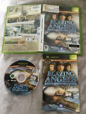 Original Xbox Game BLAZING ANGELS : SQUADRONS OF WWII * X Box