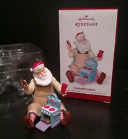 Hallmark Keepsake Ornament 2014 Toymaker Santa Christmas Toy Stove T14