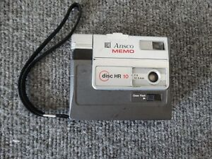 ANSCO MEMO DISC HR10 CAMERA...See Pics...FREE SHIPPING!!!