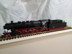 PIKO G DB Era IV BR 50 Steam Locomotive with Sound and Smoke.  NIB.