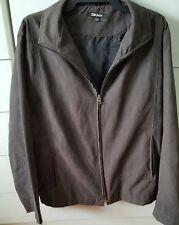 Mens DKNY Black Wind Breaker Jacket Size L