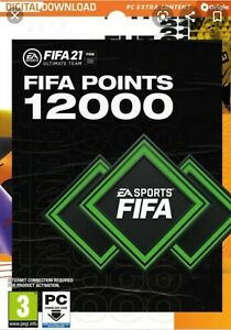 12000 points ultimate team fifa 21 PC