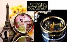 Circle Wind Up with Photo Frame Music Box : Star Wars - The Force Theme
