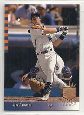 1993 SP Baseball - #28 - Jeff Bagwell - Houston Astros