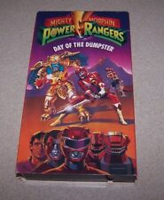 MIGHTY MORPHIN POWER RANGERS DAY OF THE DUMPSTER VHS