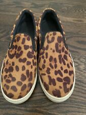 Madden Girl Cheetah Sneakers Women's Size 7 Slip On