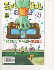 SPONGEBOB COMICS #21, 1st Print, HIGH GRADE, VF, (UNITED PLANKTON, May 2013)