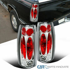 88-98 Chevy GMC C/K C10 Silverado Blazer Tahoe Tail Lights Rear Lamps Clear Pair