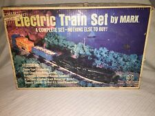 Vintage Marx Electric Train Set 4205 O Scale Complete in Original Box Steam Loco