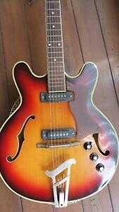MUSIMA  Halbakustik / Archtop  / Jazzgitarre - 70 er Jahre - guter Zustand