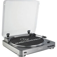 Audio-Technica AT-LP60-USB Automatic Belt-Drive Stereo Turntable (USB & Analog)