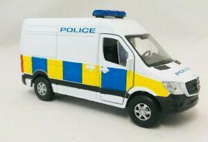 POLICE SPRINTER VAN Toy Car boy girl dad 11cm die cast model Police Van Model