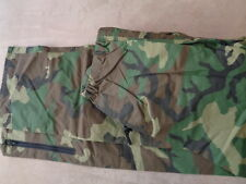 US Cavalry Military BDU Woodland Gore-Tex Camo Pants Cold Weather Large