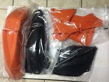 KIT PLASTICHE KTM SXF SX F 520 2001 2002 01 02 KIT 4 PZ COLORE ORIGINALE