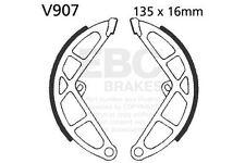FIT PIAGGIO  S 150 Spoke Wheels 79>88 EBC Plain Shoe Rear Left