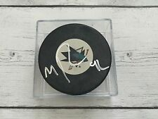 Matt Pelech Autographed Signed SJ San Jose Sharks Hockey Puck a