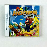 Mario Hoops 3 on 3 Nintendo DS Game (With Case & Manual)