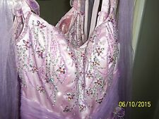 PROM, BRIDESMAID, PAGEANT, FORMAL, PURPLE DRESS size 4- 5 CLARISSE