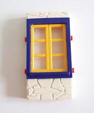 PLAYMOBIL (V219) LOISIRS - Mur En Pierres avec Fenêtre Maison Campagne 4857