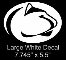 penn state nittany lions ncaa decals ebay rh ebay com  penn state lion head logo stencil